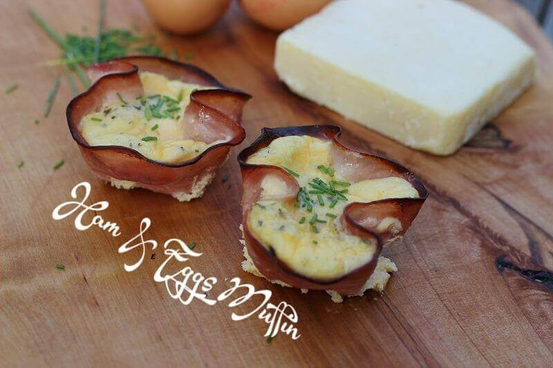 Ham and Eggs Muffins