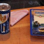 Living BBQ Chicken Cordon Bleu Schnecken Croissant und Käse