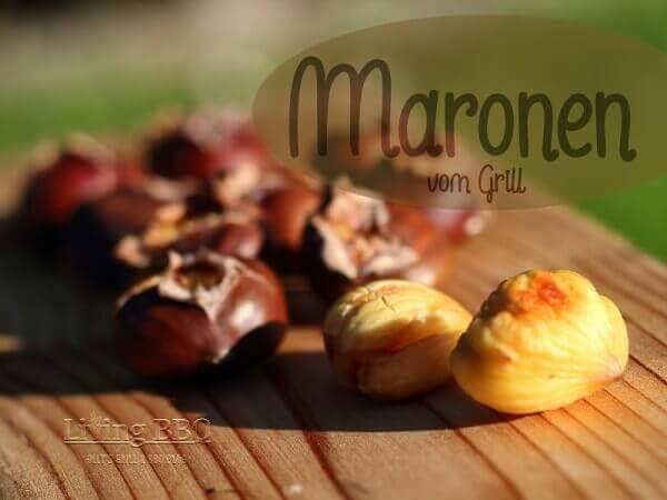 Maronen vom Grill