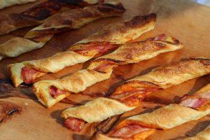 LivingBBQ Bacon Blätterteig Stangen