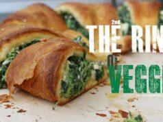 Ring of Veggie - Croissant Teig gefüllt