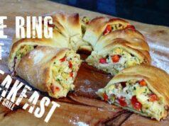 Ring of Breakfast - Frühstück vom Grill