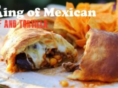 Ring of Mexican Beef and Tortilla