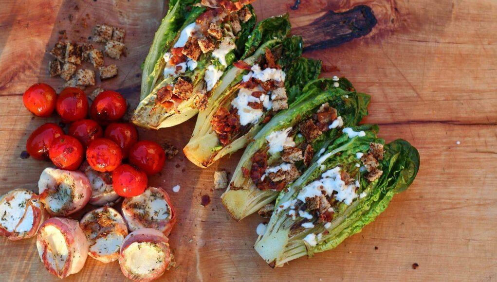 LivingBBQ Mediterraner Salat vom Grill neu