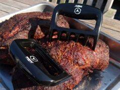 Fleisch Krallen zum Pulled Pork zerteilen