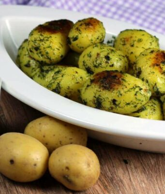 Röstkartoffeln mit andalusischer Sauce