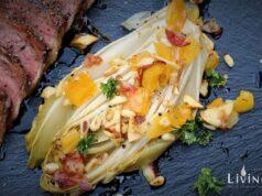 Warmer Chicoree Salat
