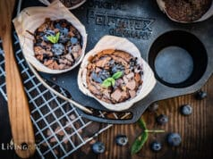 Blaubeer Muffins Grillen