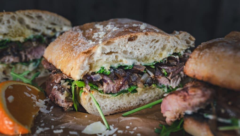 Barbarie Entenbrust Sandwich