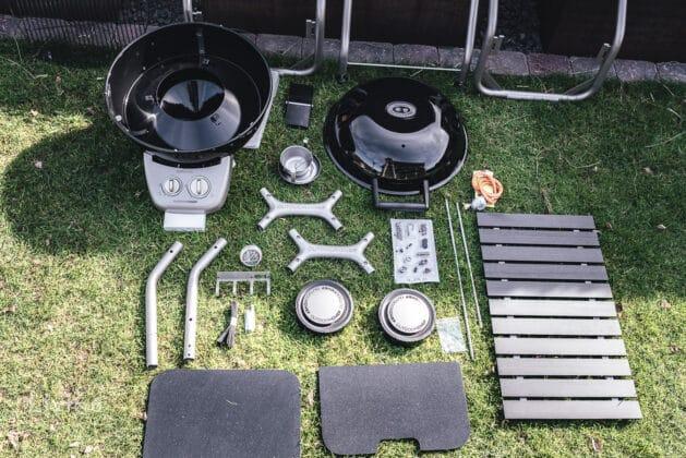 Einzelteile des Outdoorchef Montreux 570 G Chef Edition
