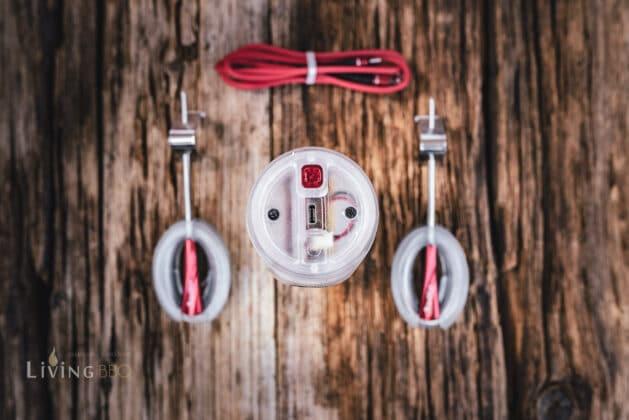 2 Messfühler und USB-C Anschluss