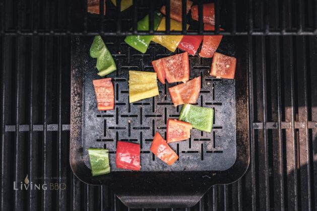 Paprika grillen