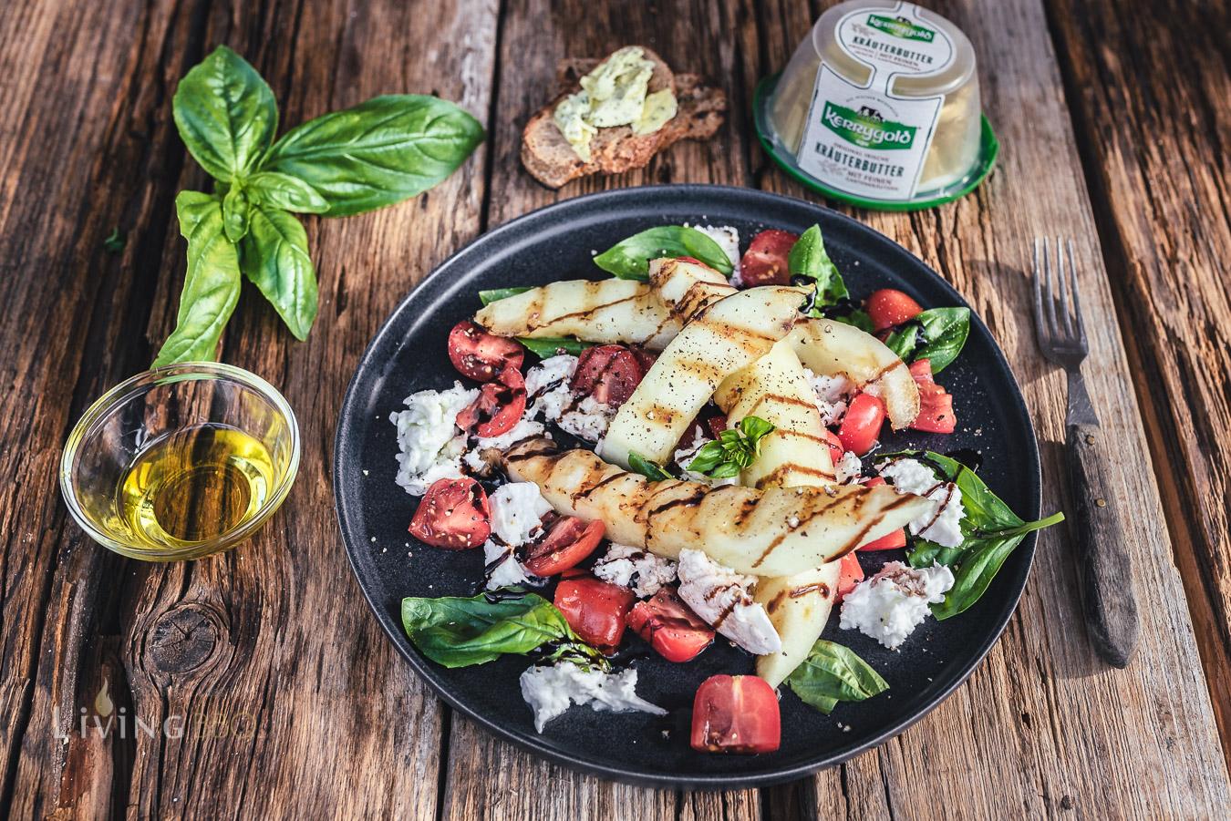 schneller Salat zum Grillen