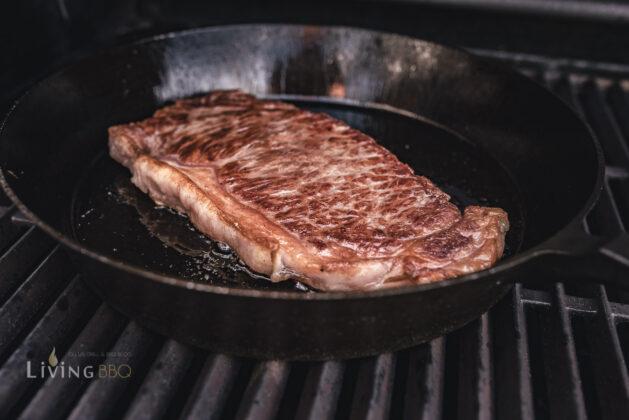 Wagyu Steak grillen