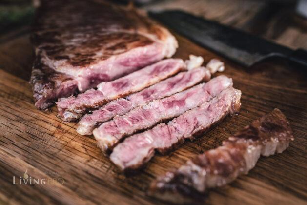 Wagyu Steak gegrillt