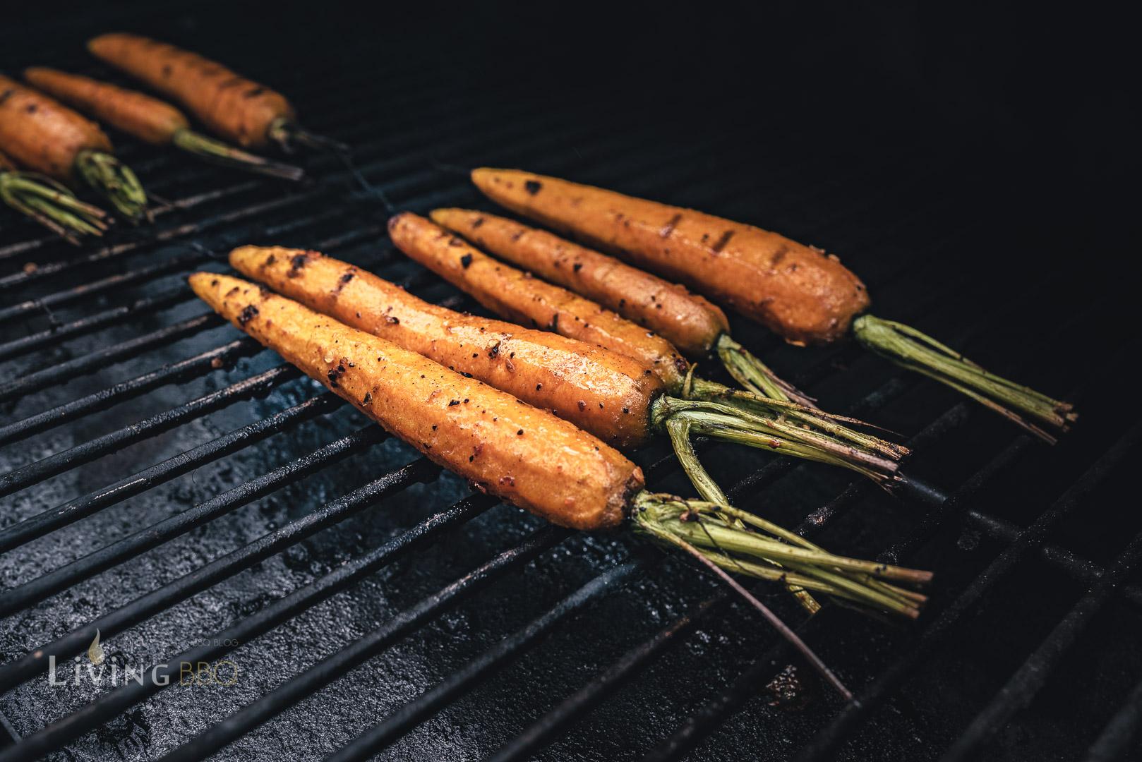 glasierte Karotten grillen