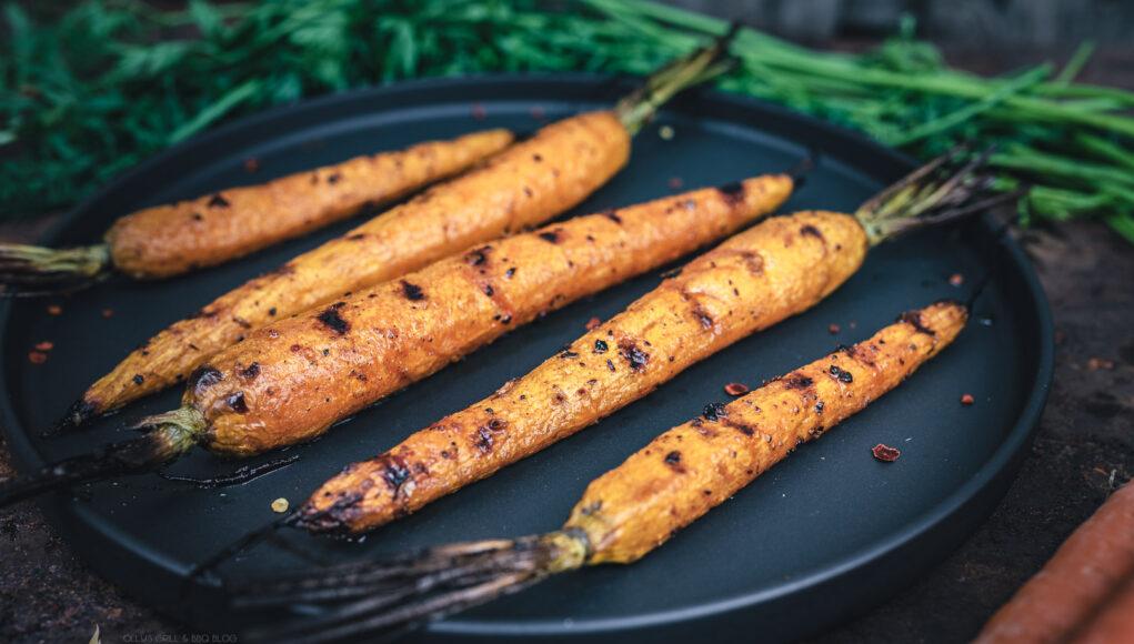 karamellisierte Karotten
